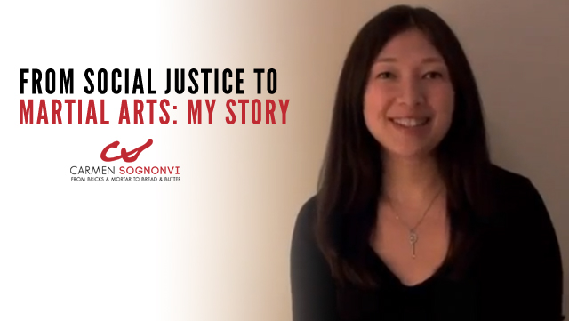 From Social Justice to Martial Arts: Carmen Sognonvi's Story