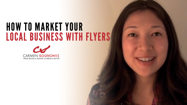 How to Market Your Local Business With Flyers