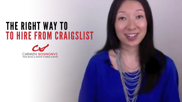 The Right Way to Hire Employees From Craigslist