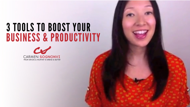 Three Tool To Boost Your Business and Productivity