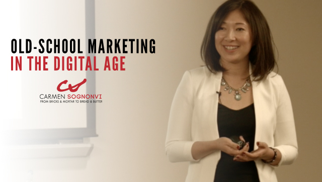 Old-School Marketing in the Digital Age