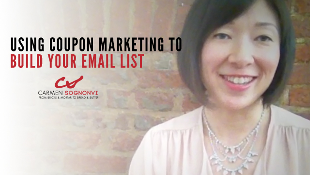 How to Use Coupon Marketing to Build an Email List