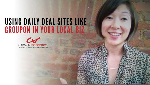 Using Daily Deal Sites Like Groupon in Your Local Business