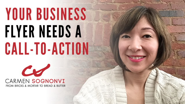 Your Business Flyer Needs a Call-to-Action