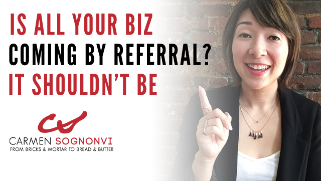 Business By Referral: Why It Can Be a Mistake