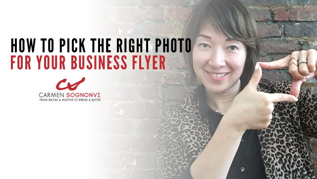 How to Pick the Right Photo for Your Business Flyer