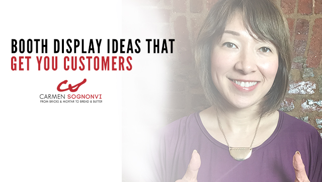 Booth Display Ideas That Get You Customers